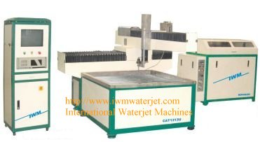 3 axis waterjet