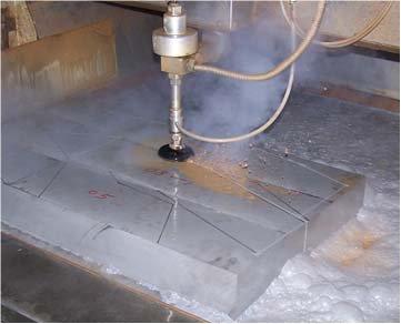 waterjet cutter, wate jet cutting machine applications